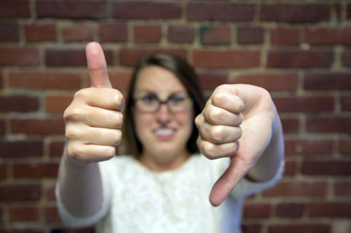 Press releases: thumbs up or down